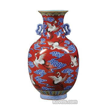 Asian Vase 56