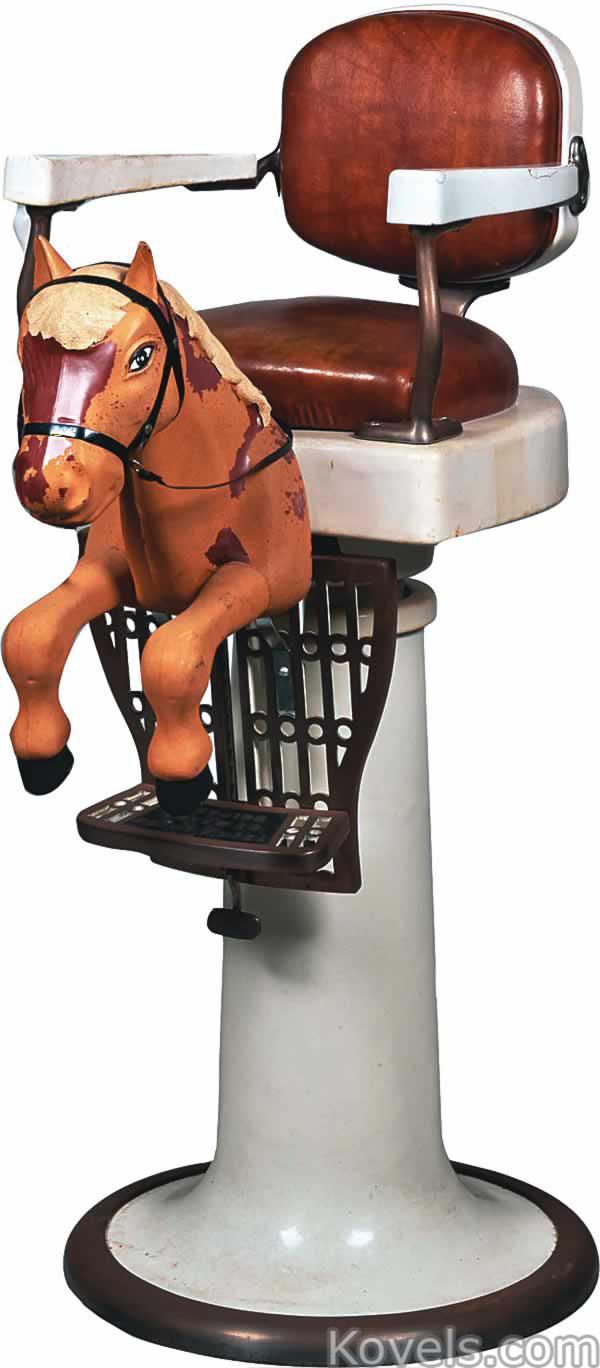 Vintage barber shop chairs - Barber