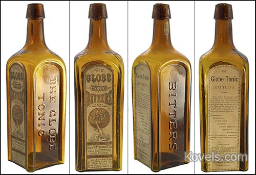 antique medicine bottles price guide