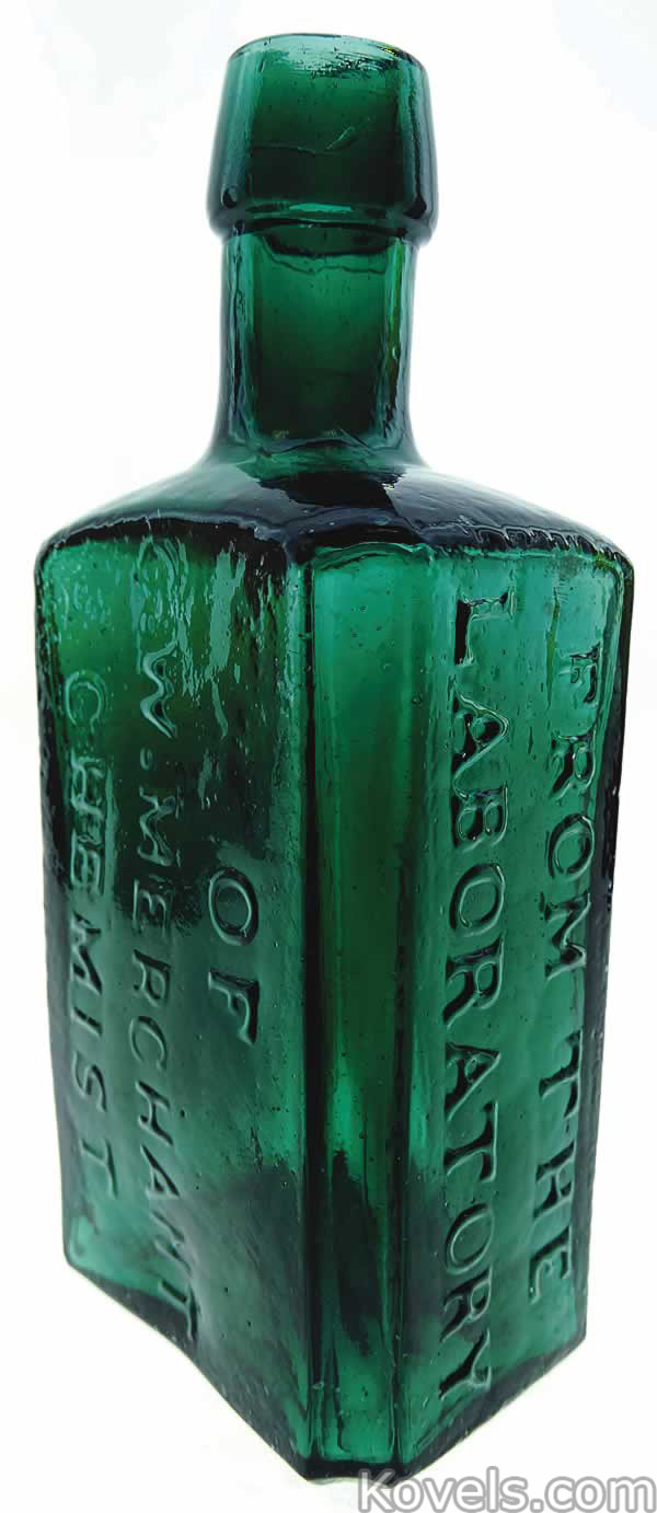 Antique Bottles Price Guide and Appraisal Guide: Value of ...