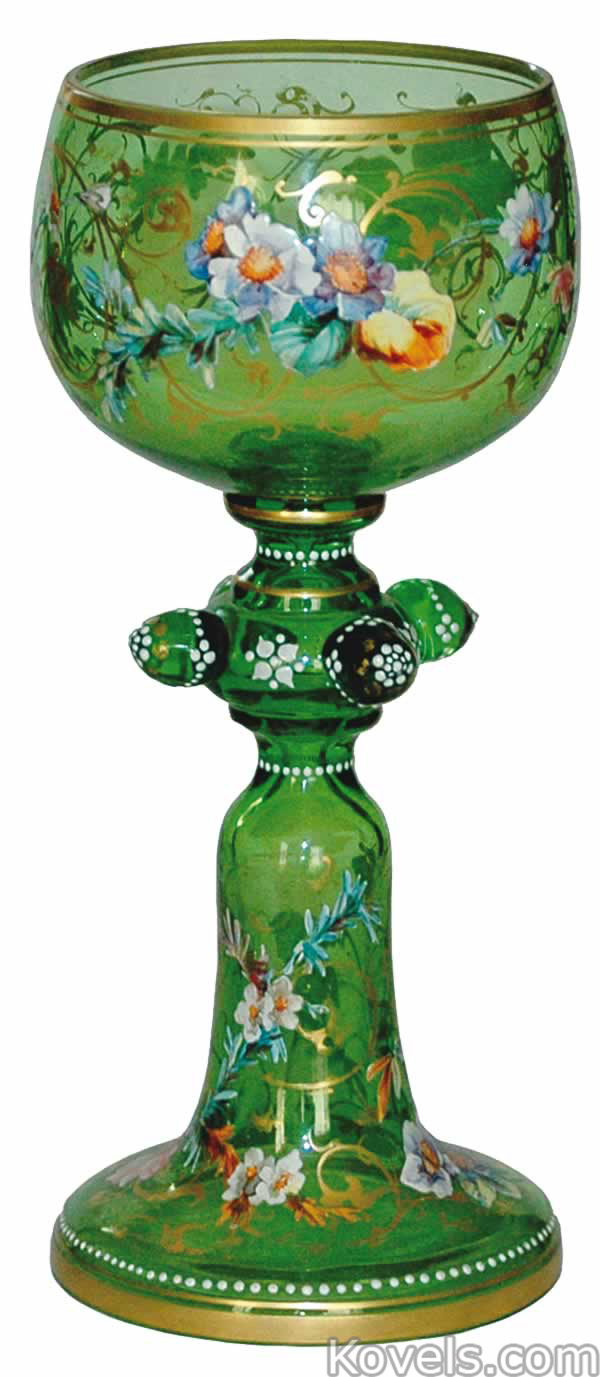 Antique Glass-Bohemian | Glass Price Guide | Antiques ...