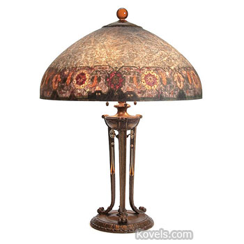 Antique handel glass price guide antiques collectibles price guide handel lamp domed shade mozeypictures Choice Image