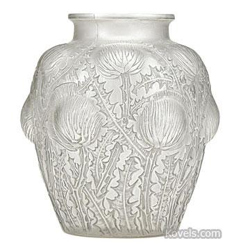 Antique Lalique Vases Vase And Cellar Image Avorcor