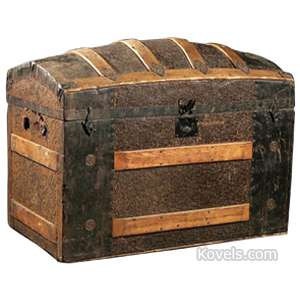 Antique Trunks | Miscellaneous Price Guide | Antiques ...