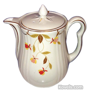 Autumn Leaf Teapot 10 Cup | Kovels' Price Guide