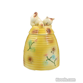 Antique cookie jars pottery porcelain price guide antiques collectibles price guide - Beehive cookie jar ...
