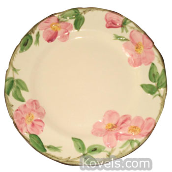 Franciscan Desert Rose Plate ...  sc 1 st  Kovels.com & Antique Franciscan | Pottery \u0026 Porcelain Price Guide | Antiques ...
