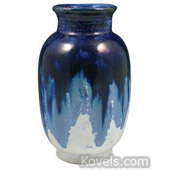Blue Ceramic Vase Vase And Cellar Image Avorcor