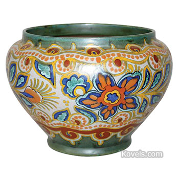 Antique Gouda Pottery Amp Porcelain Price Guide Antiques