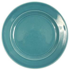 Harlequin Turquoise Plate Dinner