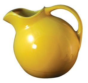 Harlequin Yellow Pitcher Water