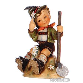 Hummel figurine little fiddler 4 tm 3 book value lot 176