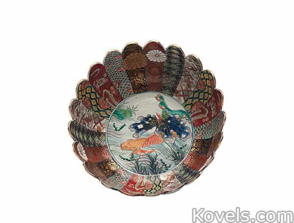 Imari ...  sc 1 st  Kovels.com & Antique Imari   Pottery u0026 Porcelain Price Guide   Antiques ...