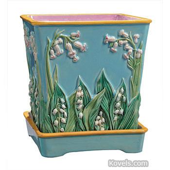 Majolica ...  sc 1 st  Kovels.com & Antique Majolica | Pottery u0026 Porcelain Price Guide | Antiques ...