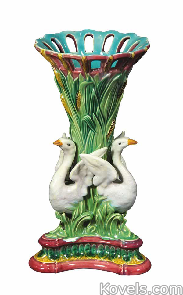 Antique Majolica Pottery Amp Porcelain Price Guide