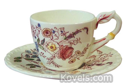 Vernon Kilns ...  sc 1 st  Kovels.com & Antique Vernon Kilns | Pottery u0026 Porcelain Price Guide | Antiques ...