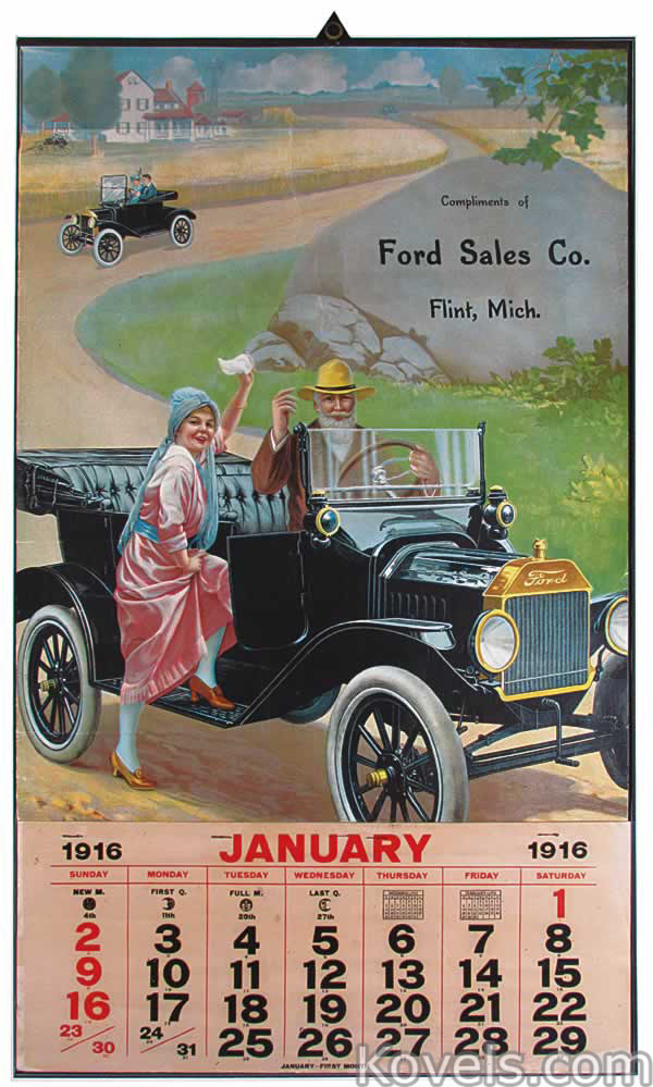 Antique Calendars | Prints, Pictures, Paper & Paintings Price ...