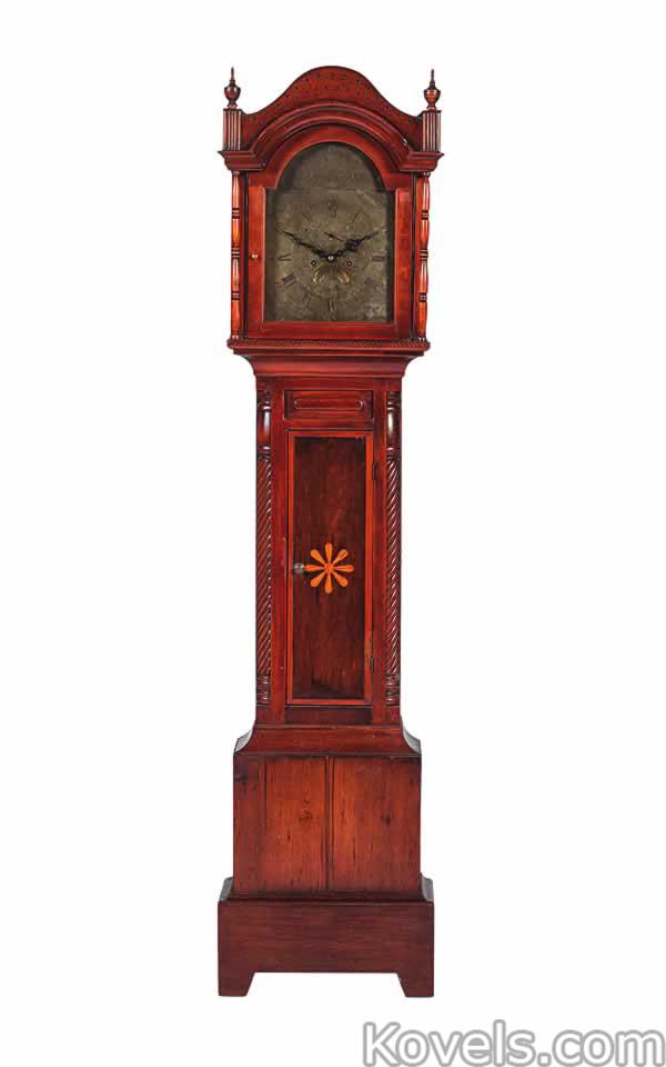 Antique Clocks Silver Pewter Brass Copper Chrome
