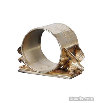 Copper & Brass Vintage Napkin Rings