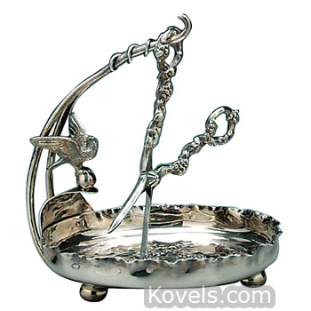 Silver Plate Grape Stand ...  sc 1 st  Kovels.com & Antique Silver Plate | Silver Pewter Brass Copper Chrome u0026 Other ...