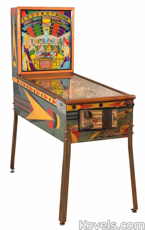 antique coin operated machine