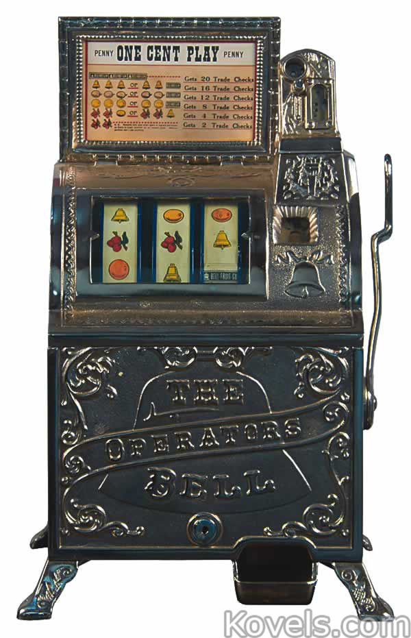 coin operated machine