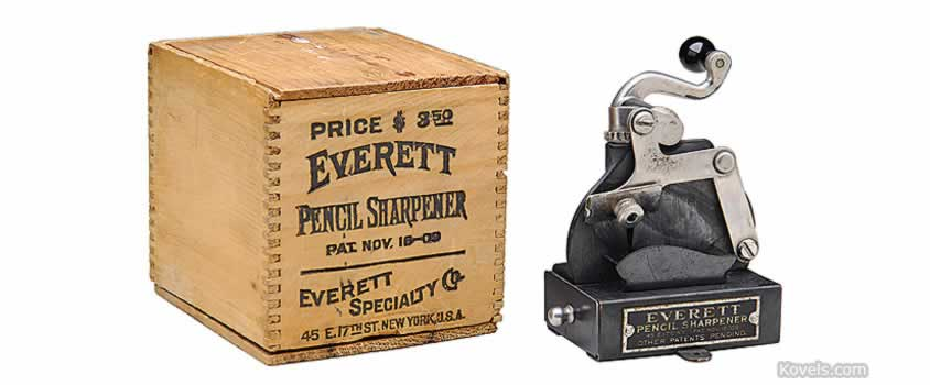 Antique Pencil Sharpener Technology Price Guide