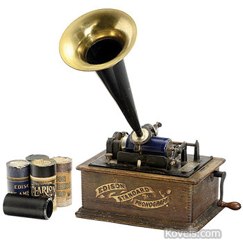 Phonographs Edison Standard Type