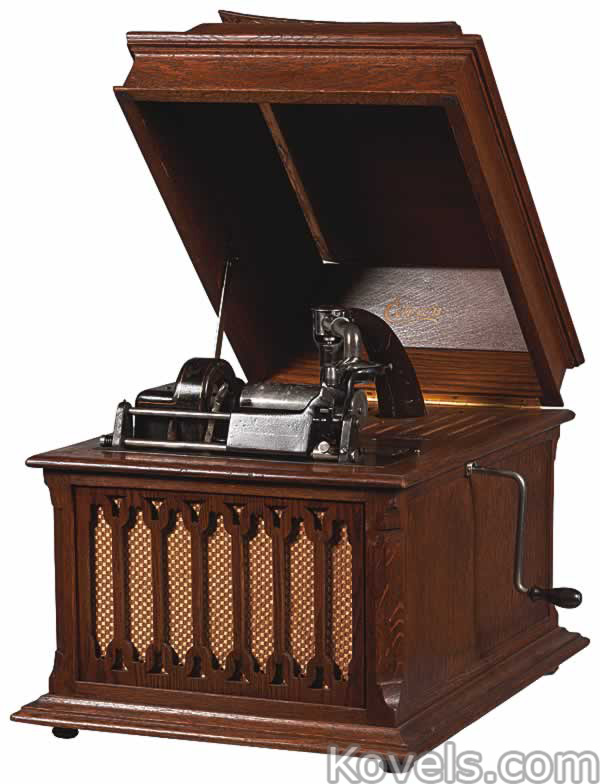 Phonographs ... - Antique Phonographs Technology Price Guide Antiques