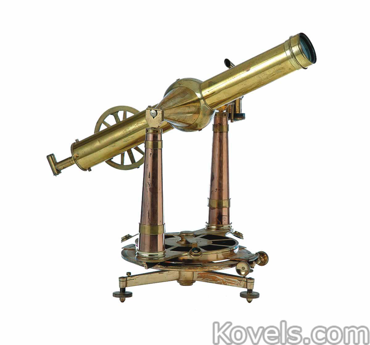Antique Science Instruments : Antique scientific instruments technology price guide