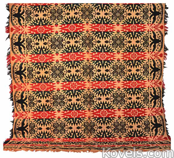 antique coverlets textile clothing accessories price
