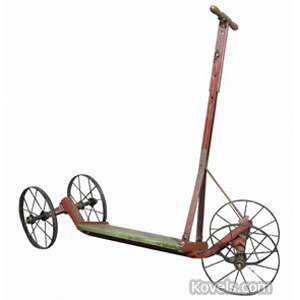 Bicycles Scooter 4 Spoked Wheels Roll-About Henley | Kovels' Price Guide