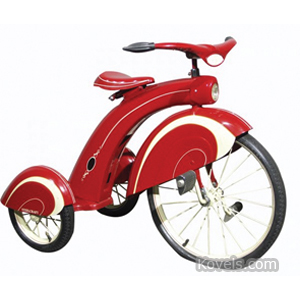 Bicycles Tricycle Steelcraft Front Headlight Back Wheel Fenders Pressed Steel | Kovels' Price Guide