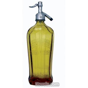 Coca-Cola Bottle Seltzer Amber Glass Wagner Spigot 1920s | Kovels' Price Guide