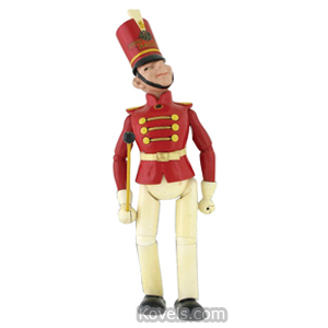 Doll Advertising General Electric Radio Drum Major Wood Jointed