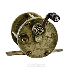 Antique fishing toys dolls price guide antiques for Antique fishing reels price guide