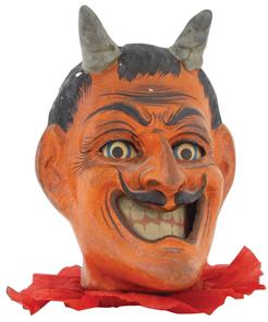 Halloween Lantern Devil C1920
