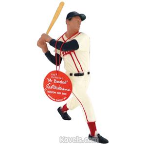 Sports Baseball Figure Ted Williams Plastic Hartland Tag