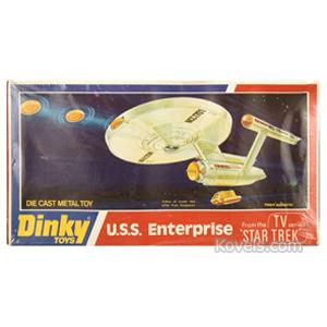 Star Trek Toy Uss Enterprise Die Cast Metal No 358 Box Dinky 1975